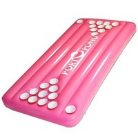 PortOPong Inflatable Floating Pool Beer Pong Table - Pink:Amazon:Toys &amp; Games