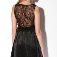 Lucca Couture Silky Lace Sweetheart DressOnline Only!