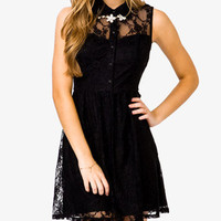 Sleeveless Lace Dress | FOREVER 21 - 2031557042