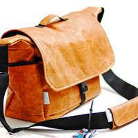 Leather DSLR Camera bag