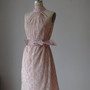 Dress Creme Lase   Ash of roses  Bridesmaids   Bride  Wedding   Vintage Pastel Angel  Pale Creamy Roses Dreamy Spring ,Ready for shipping