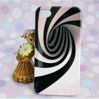 magic whirlpool vortex 3D stripe case for iphone4/4s