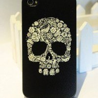 Cool Skull Hard Cover Case For Iphone 4/4s/5