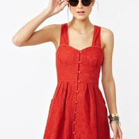 Marjorie Crochet Dress in Clothes at Nasty Gal