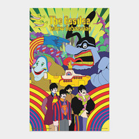 Yellow Submarine: 3D Movie Print
