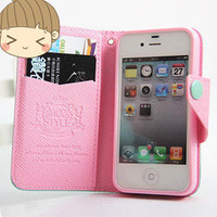 Cute Mint & Pink Iphone 4/4s/5 case