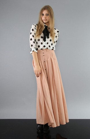 MARKET HQ | Great Expectations Maxi Skirt