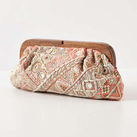 Anthropologie - Diamond Day Clutch