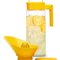 Takeya Flash Chill Lemonade Maker, Lemon, 66-Ounce:Amazon:Kitchen & Dining