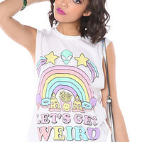 Jac Vanek The Lets Get Weird Muscle Tee : Karmaloop.com - Global Concrete Culture