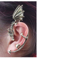 Whispering Baby Dragon Earcuff