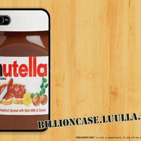 Nutella iPhone 5 Case iPhone 4 Case iPhone 4s Case idea case Galaxy Case Hard Case Silicon Soft Rubber Case