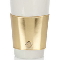 Jimmy Choo|Rika mirrored-leather coffee cup sleeve|NET-A-PORTER.COM