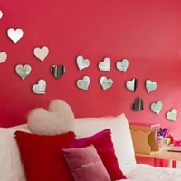 Mini Hearts (Set of 20 Acrylic Mirrors)