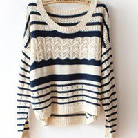 Loose Irregular Hollow Sweater
