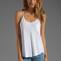 LA Made Slub Jersey Flowy Cami in White from REVOLVEclothing.com