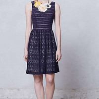 Anthropologie - Sunstream Eyelet Dress