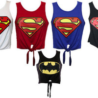 SUPERHERO SUMMER CROP TOPS