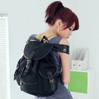 Canvas Fashion Womens Girls Shoulder Bags Backpacks Various School Book Rucksack