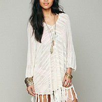 Free People  Slub Poncho at Free People Clothing Boutique