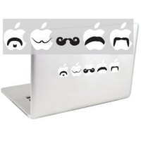 Amazon.com: Moustache Set 2 Vinyl Decal: Electronics