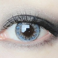 NEO Glamour Blue Cosmetic Colored Contacts Circle Lenses