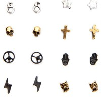 Brandy ♥ Melville |  Earring Box Set  - Earrings - Jewelry - Accessories
