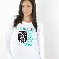 Owl Eco Pima Modal Raglan Pullover Sweatshirt