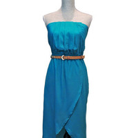 Escape to Napa High Low Dress - Jade -  $52.00 | Daily Chic Dresses | International Shipping