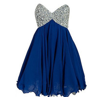 Sweetheart sleeveless mini chiffon pleated crystal beads short Prom