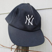 COLLECTIBLE 1980 NY Yankees Cap Day Baseball Hat // 80s Yankees Cap // Vintage Cap Day Hat