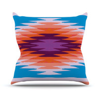 "Nika Martinez ""Surf Lovin Hawaii"" Throw Pillow"