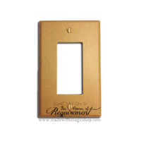 The Room of Requirement - Wizard Rocker Style Switch Plate