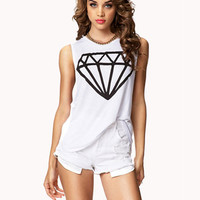 Basic Diamond Muscle Tee