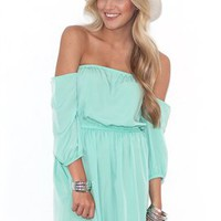 West Coast Wardrobe Mint To Be Dress in Mint