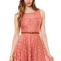 Glamorous Dress Spring Love Peach
