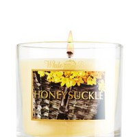 Honeysuckle 4 oz. Small Candle   - Slatkin &amp; Co. - Bath &amp; Body Works