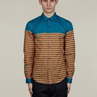 Adidas x Opening Ceremony Men's Striped Dress Shir