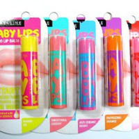 Maybelline Baby Lips SPF20 4g.(1 pack/5 pcs.): Beauty