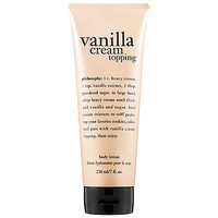 Philosophy Vanilla Cream Topping Body Lotion: Shop Body Moisturizer | Sephora