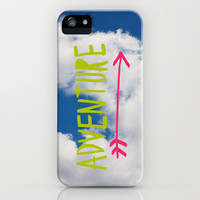 Adventure // Sky iPhone & iPod Case by Leah Flores Designs