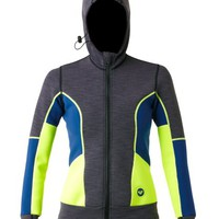 Sea Blazer Neoprene Hoodie - Roxy