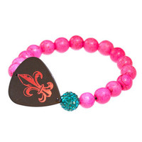 Electric Picks: Pretty In Pink Women's Bracelet, at 40% off!