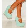Mint Green Wedges