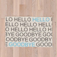 Hello/Goodbye Rug