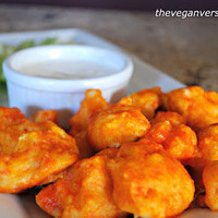 The Vegan Version: Buffalo Cauliflower Bites