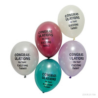 Adam J. Kurtz &gt; CONGRAT-ULATIONS Balloons