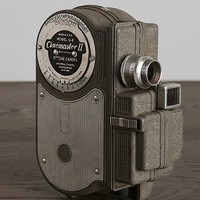 Vintage Universal Cinemaster Movie Camera