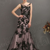 Tank Top Formal Evening Dress Long Mermaid Prom Gown Bridal Party Lace Dress New