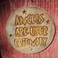Angels Stone  Wall Hanging